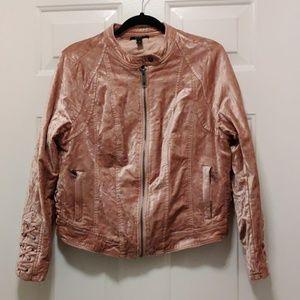 Torrid crushed velvet jacket